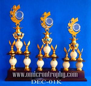 Jual Piala Trophy Marmer Kaki 2