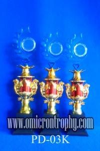 Sentral Produksi Trophy Plastik Siap Kirim Semarang Surabaya