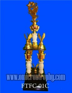 Jual Piala Trophy Marmer Kaki 4