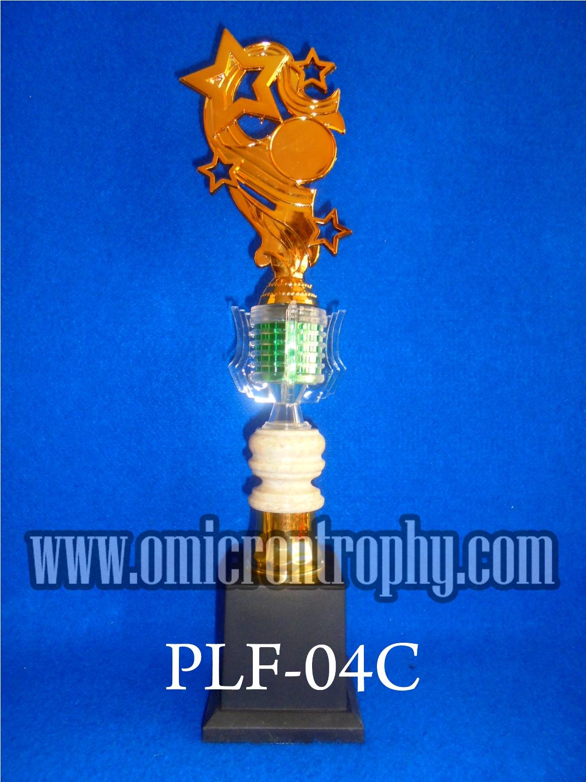 jual piala murah siap kirim tangerang omicron trophy