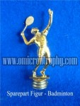 Jual Sparepart Bahan Piala Trophy Plastik – Figur Badminton