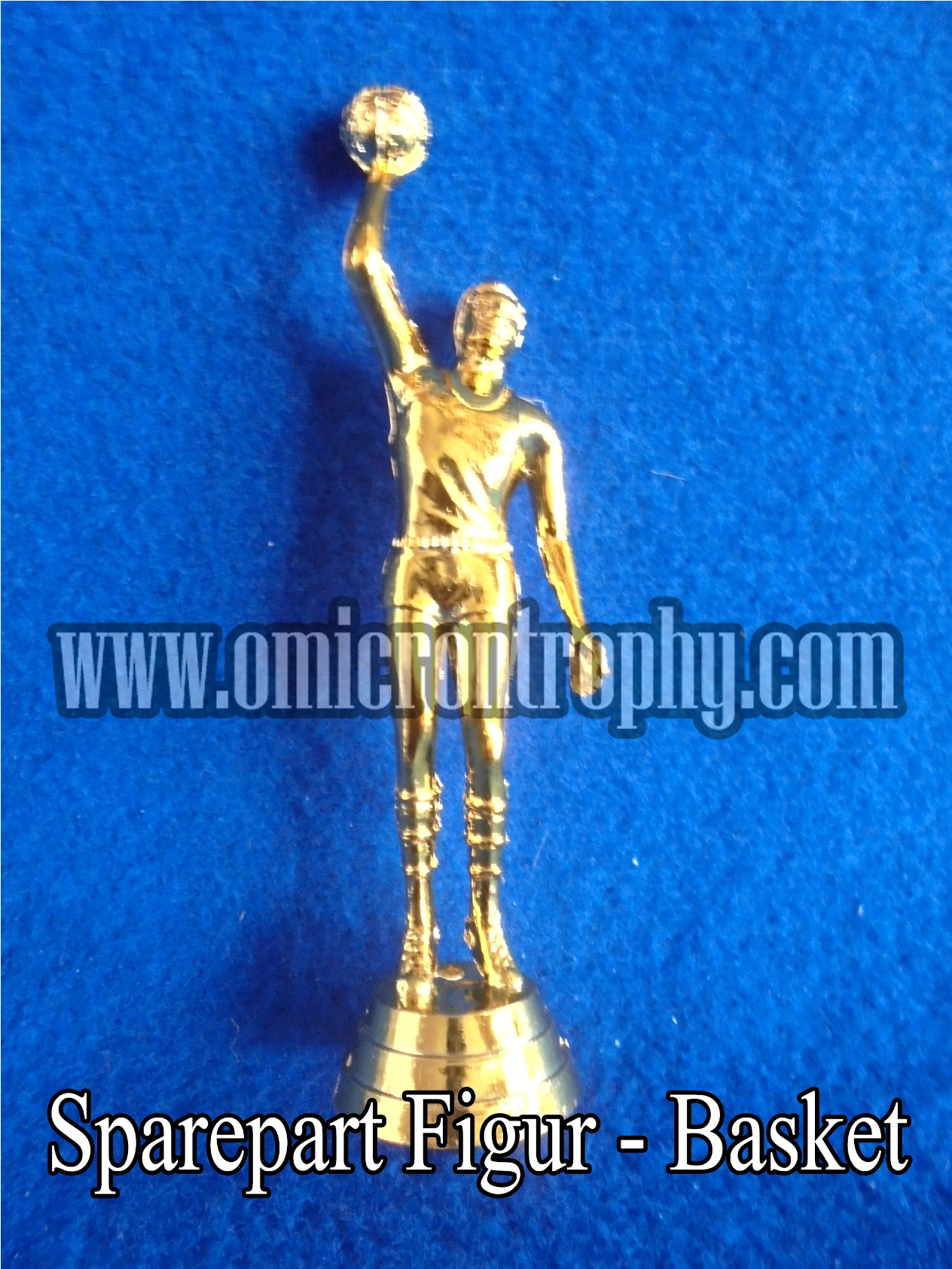 Sparepart Figur - Basket Distributor Bahan Piala Trophy Plastik