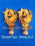Distributor Bahan Piala Trophy Plastik – Figur Bintang Kecil