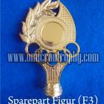 Jual Sparepart Bahan Piala Trophy Murah - Figur F3