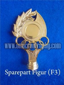 Jual Sparepart Bahan Piala Trophy  Murah – Figur F3