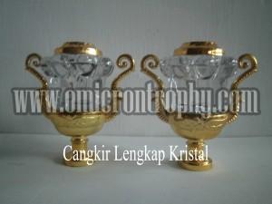 Jual Bagian Piala Trophy Marmer Murah - Cangkir Lengkap Kristal