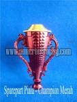 Jual Bagian Trophy Piala Plastik  Murah – Champion Merah