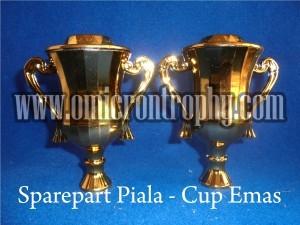 Jual Sparepart Piala Trophy Marmer Murah – Cup Emas