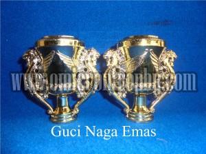 Jual Sparepart Trophy Piala Plastik Murah – Guci Naga Emas
