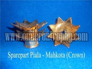 Grosir Bahan Piala Trophy Plastik Murah – Mahkota (Crown)