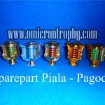 Grosir Bagian Piala Trophy Plastik Murah - Pagoda