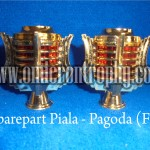 Grosir Bagian Piala Trophy Plastik Murah - Pagoda (F1)