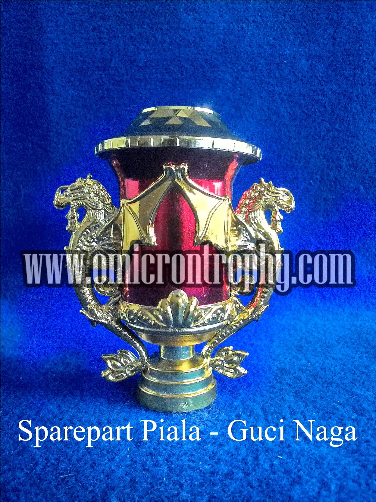 Grosir Bahan Trophy Piala Marmer Murah - Guci Naga Merah