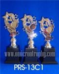 Jual Piala Trophy Silver Mini Kontes Anak-anak Siap Kirim Medan