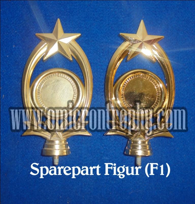 Pabrik Sparepart Trophy Piala Plastik - Sparepart Figur F1