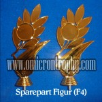 Distributor Bahan Piala Trophy Plastik - Figur F4