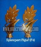 Distributor Bahan Piala Trophy Plastik – Figur F4