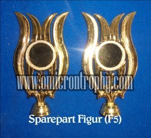 Jual Sparepart Bahan Piala Trophy Plastik - Figur F5