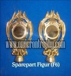 Pabrik Piala Sparepart Trophy Piala Plastik – Figur F6
