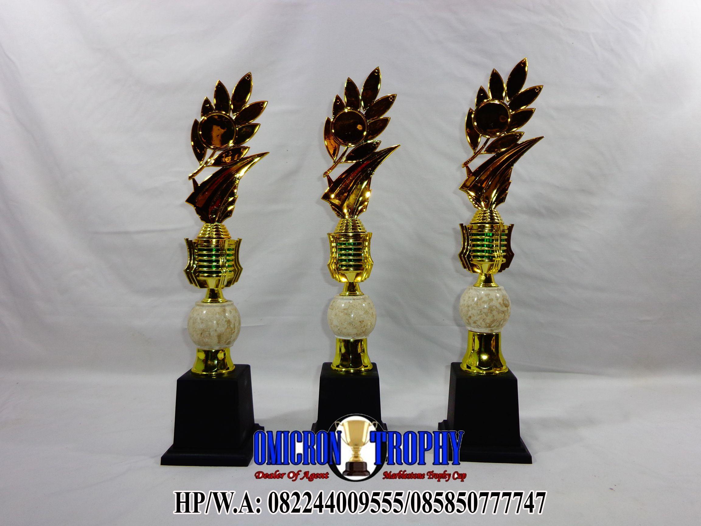 jual trophy plastik dan marmer